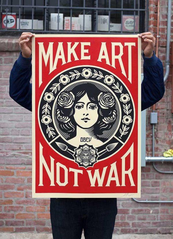 obey make love not war 3