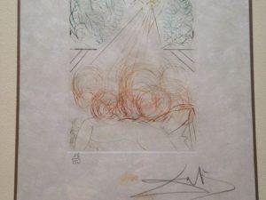 Litografía Dalí